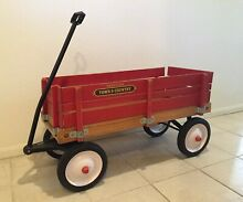 Radio flyer town country wooden
