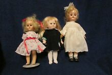 Three dolls two unmarked and one by