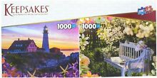 Set of 2 1000 pieces each s garden
