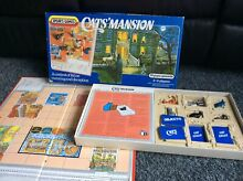 Cats mansion board game s 1984