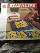 Stay alive board game mb games 1976
