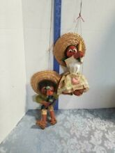 Wooden spanish puppets male and