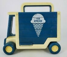 Tonka blue white ice cream truck