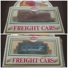 Two 2 model power freight cars no