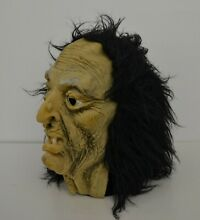 Topstone witch hag vinyl latex mask
