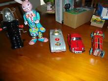 Collectable tin toys