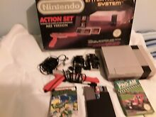 Console boxed 3 games