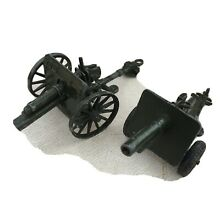 Two english made metal cannons