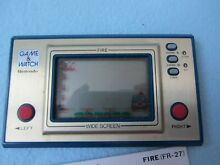 Nintendo fire game watch retro lcd