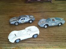 Used 1 32 scale slot cars set of