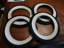 New pedal car white wall tires 4