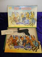 Rare c red indian shooting game