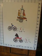 11 x 14 toy poster tin toy spinning