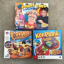 Hasbro mb board games bundle kids