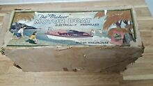 Toys meteor motor boat electrically