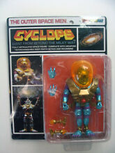 The outer space men cyclops figure