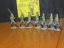 German infantry toy soldiersmib