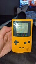 Colour yellow handheld system