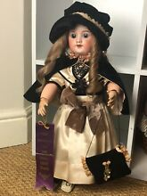 French 60 bisque head doll 52cm 21