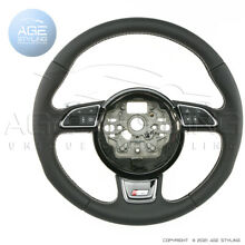 Oem audi s6 a6 leather steering