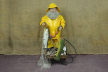 Automated model old fisherman