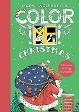 S color me christmas book of