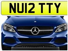 Nutty private number plate car
