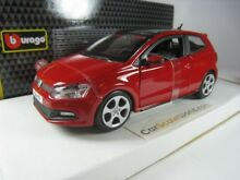 Volkswagen polo gti mk5 1 24 red
