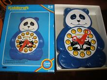 1982 panda clock for ages 3 6 years