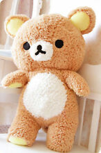 Cute plush san x relax bear toy