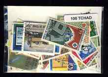 Tchad chad 100 timbres différents