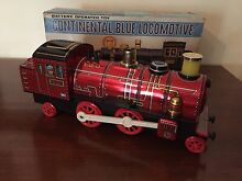 Treno tin toy continental blue