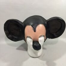 Creepy mickey mouse adult 1 2 mask