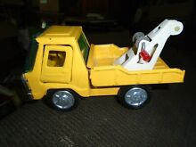 Tow truck toy pressed metal line