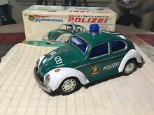 Tin battery operated volkswagen