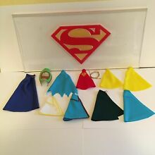 Custom capes batman superman robin