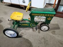 Diesel 2 ton pedal tractor read