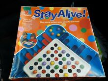 Stay alive 1993 board game mb games