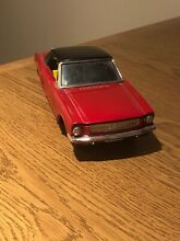 1965 tin toy ford mustang friction