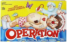 Classic toy hasbro operation doctor