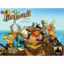 Piratoons family pirate board game