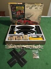 T jet slot car set jaguar challenge