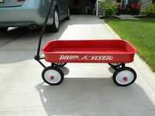 Nice radio flyer red wagon newly