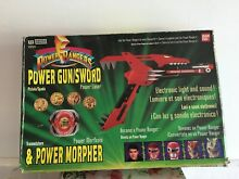 Power rangers power morpher pistola