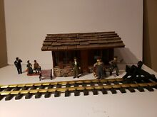 G scale branchline station custom