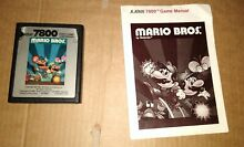 Mario bros for cartridge manual