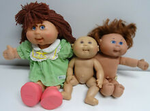 Signed cabbage patch dolls kids x 3