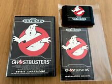 Ghostbusters complete mega drive