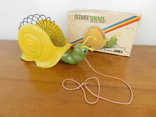 Original snail pull toy 350 the