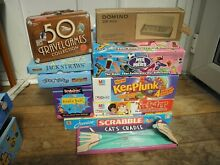 Job lot 10 x board games dominoes